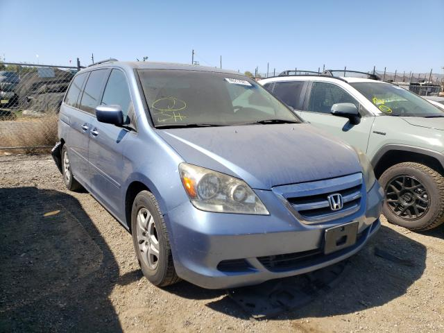 Honda Odyssey salvage cars for sale: 2005 Honda Odyssey