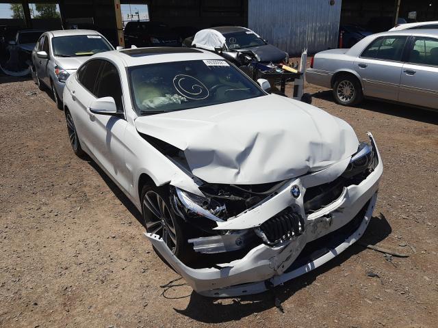 BMW Vehiculos salvage en venta: 2020 BMW 430I Gran Coupe