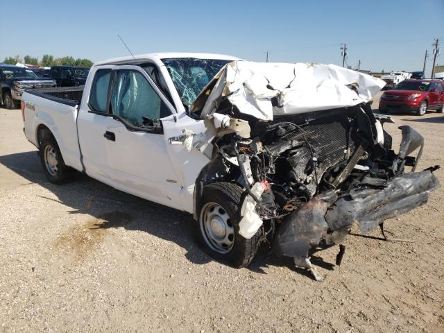 Salvage cars for sale at Casper, WY auction: 2015 Ford F150 Super
