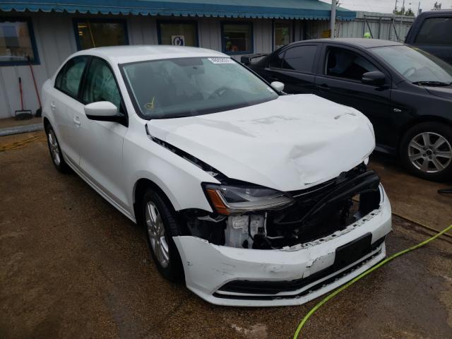 Salvage cars for sale from Copart Pekin, IL: 2018 Volkswagen Jetta S