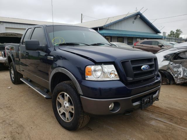 Salvage cars for sale from Copart Pekin, IL: 2006 Ford F150