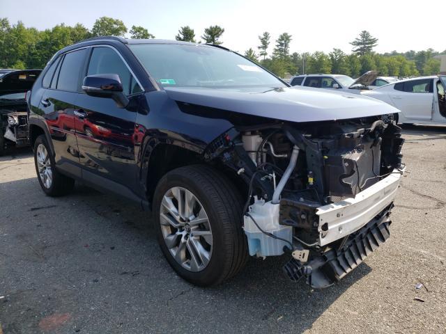 Vehiculos salvage en venta de Copart Exeter, RI: 2019 Toyota Rav4 Limited