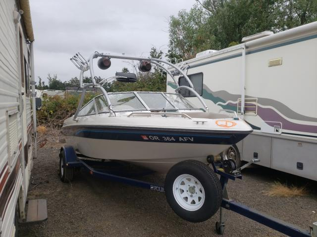 Salvage boats for sale at Woodburn, OR auction: 1996 Four Winds 170 H