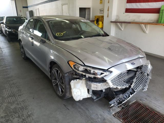 Salvage cars for sale from Copart Pasco, WA: 2020 Ford Fusion Titanium