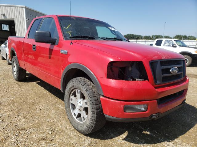 Salvage cars for sale from Copart Nisku, AB: 2004 Ford F150