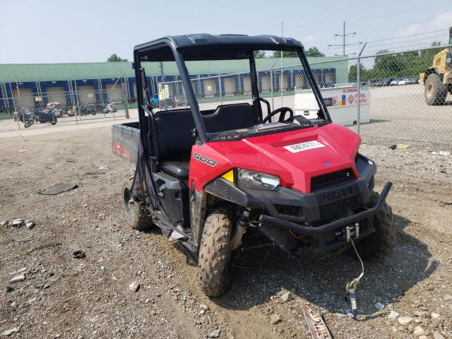Salvage cars for sale from Copart Columbus, OH: 2019 Polaris Ranger 500