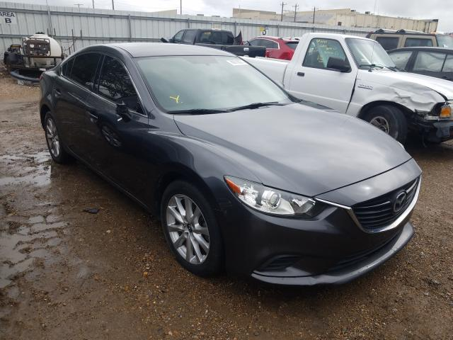 Salvage cars for sale at Mercedes, TX auction: 2017 Mazda 6 Sport