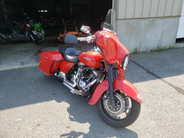 Salvage cars for sale from Copart Exeter, RI: 2010 Harley-Davidson Flhtk