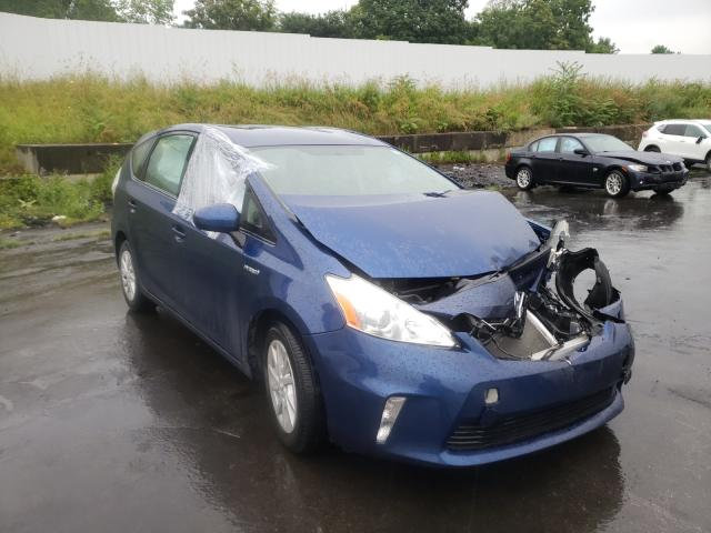 Salvage cars for sale from Copart Marlboro, NY: 2014 Toyota Prius V