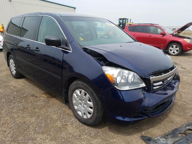 Vehiculos salvage en venta de Copart Rocky View County, AB: 2007 Honda Odyssey LX