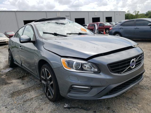Salvage cars for sale at Jacksonville, FL auction: 2017 Volvo S60 Dynami