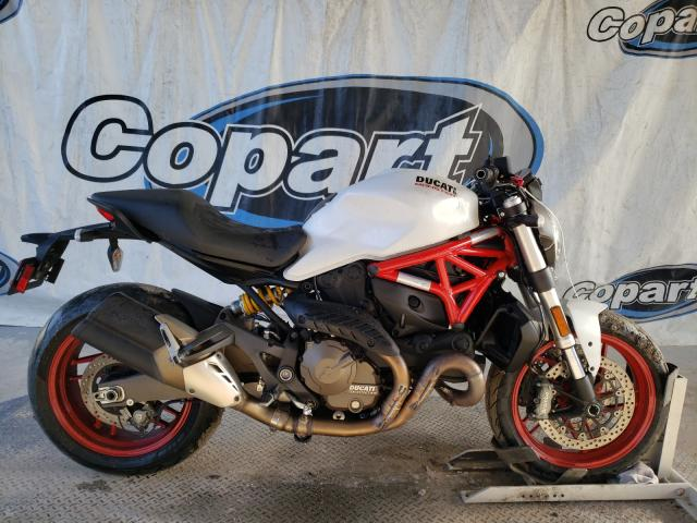 Salvage cars for sale from Copart Riverview, FL: 2016 Ducati Monster 82