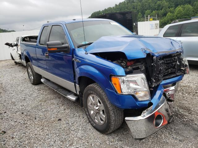 Salvage cars for sale from Copart Hurricane, WV: 2009 Ford F150 Super