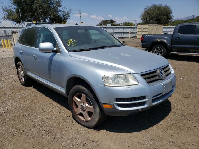 Volkswagen salvage cars for sale: 2005 Volkswagen Touareg 3