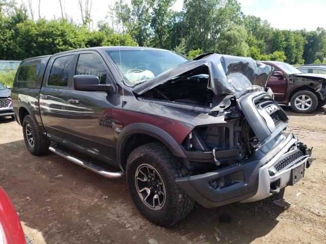 Salvage cars for sale from Copart Davison, MI: 2016 Dodge RAM 1500 Rebel