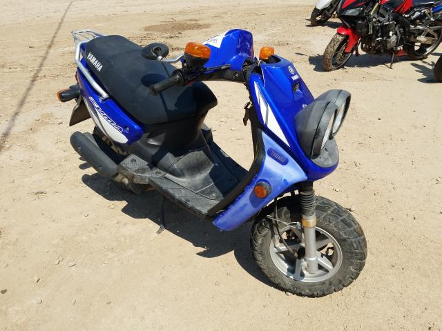 Salvage cars for sale from Copart Billings, MT: 2002 Yamaha YW50 AP ZU