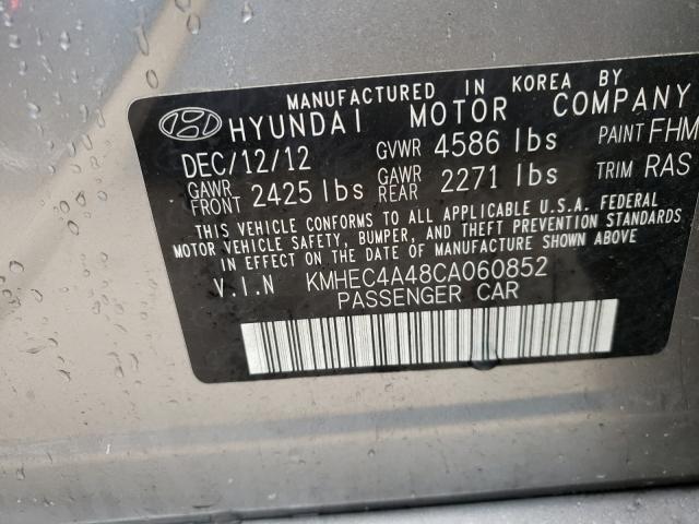 2012 HYUNDAI SONATA HYB KMHEC4A48CA060852