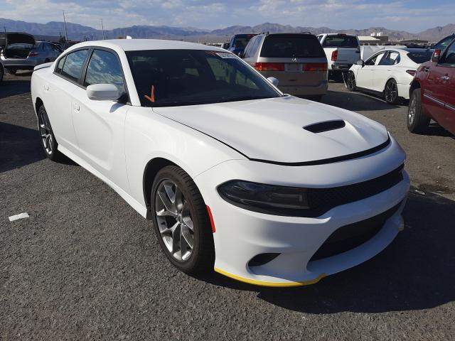 Salvage cars for sale from Copart Las Vegas, NV: 2021 Dodge Charger GT