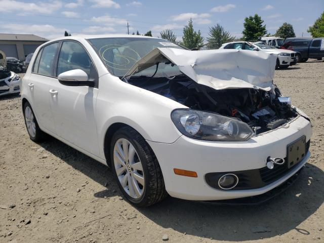 Salvage cars for sale from Copart Eugene, OR: 2013 Volkswagen Golf