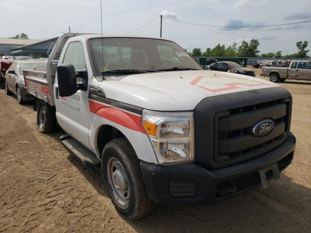 Salvage cars for sale from Copart Pekin, IL: 2012 Ford F250 Super