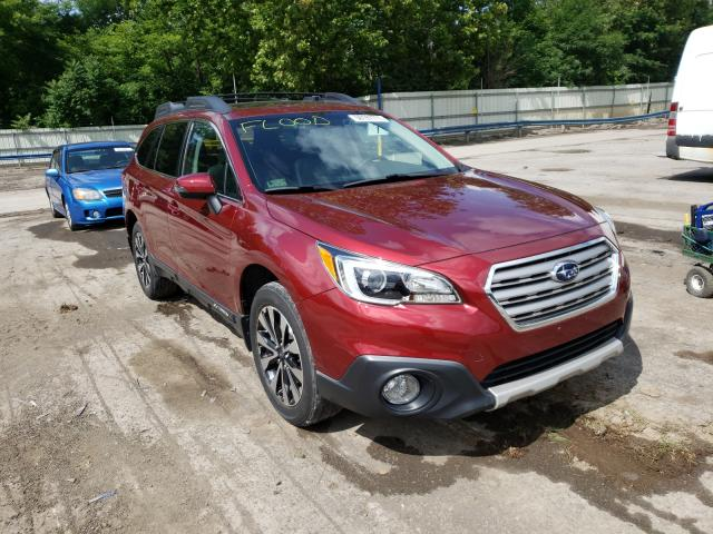 Salvage cars for sale from Copart Ellwood City, PA: 2016 Subaru Outback 2