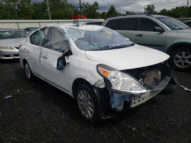 Salvage cars for sale from Copart New Britain, CT: 2019 Nissan Versa S