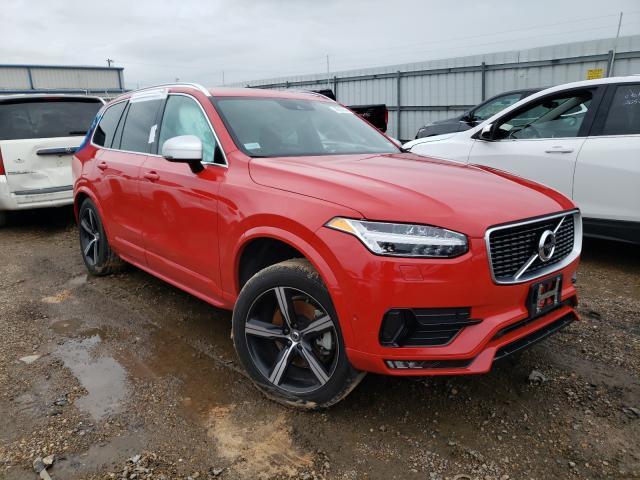 Vehiculos salvage en venta de Copart Mercedes, TX: 2017 Volvo XC90 T5