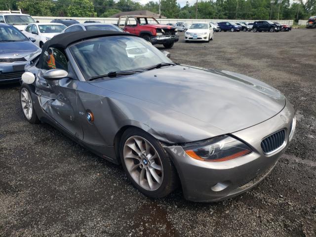 BMW Z4 salvage cars for sale: 2004 BMW Z4
