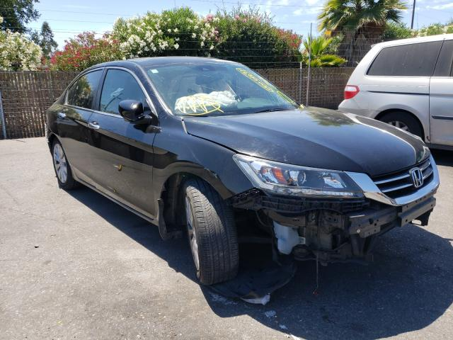 Salvage cars for sale from Copart San Martin, CA: 2014 Honda Accord EXL