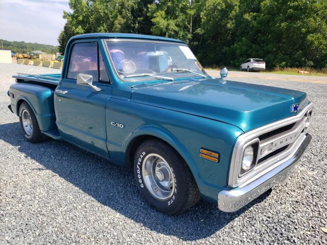 Salvage cars for sale from Copart Concord, NC: 1970 Chevrolet C10
