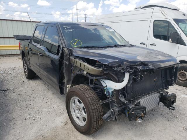 Salvage cars for sale from Copart Haslet, TX: 2021 Ford F150 Super