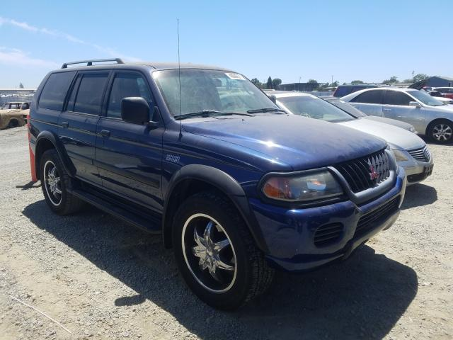 Salvage cars for sale from Copart Antelope, CA: 2001 Mitsubishi Montero SP
