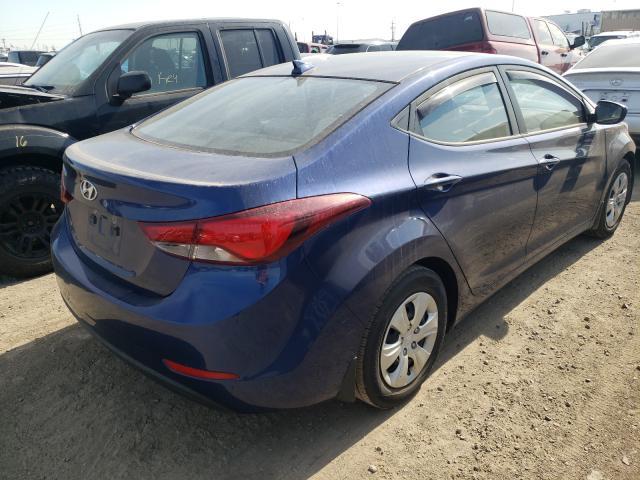 2016 Hyundai Elantra Se 1.8L