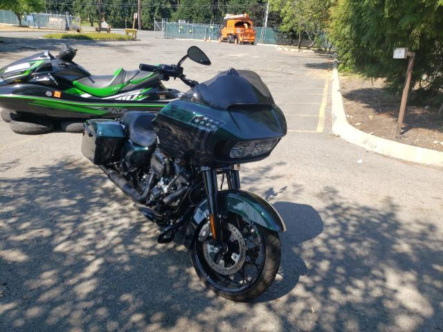 Salvage cars for sale from Copart Graham, WA: 2021 Harley-Davidson Fltrxs