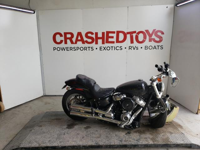 Salvage cars for sale from Copart Kansas City, KS: 2020 Harley-Davidson Fxst