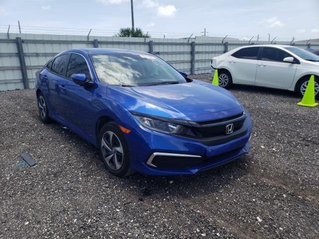 Salvage cars for sale from Copart Miami, FL: 2020 Honda Civic LX