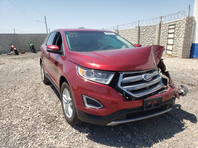 Vehiculos salvage en venta de Copart Farr West, UT: 2016 Ford Edge SEL