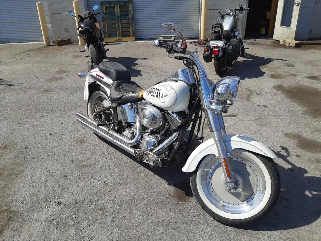 Salvage cars for sale from Copart Las Vegas, NV: 2005 Harley-Davidson Flstfi