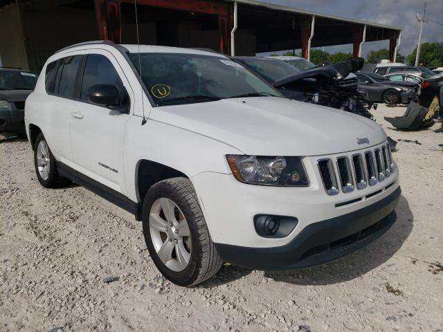 Salvage cars for sale from Copart Homestead, FL: 2016 Jeep Compass SP