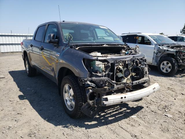 Salvage cars for sale from Copart Airway Heights, WA: 2011 Toyota Tundra CRE