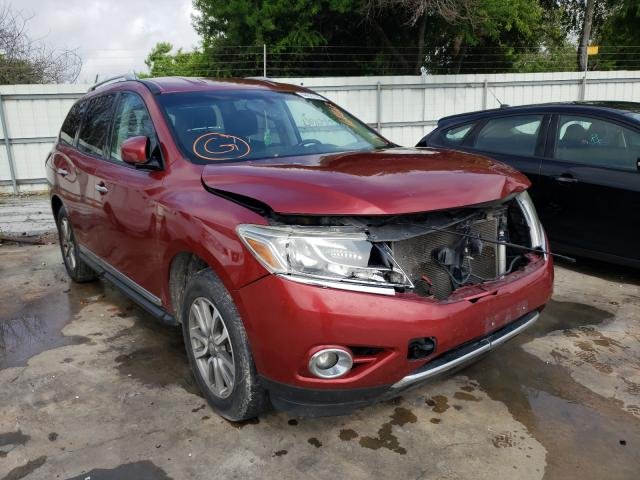 Salvage cars for sale from Copart Corpus Christi, TX: 2013 Nissan Pathfinder