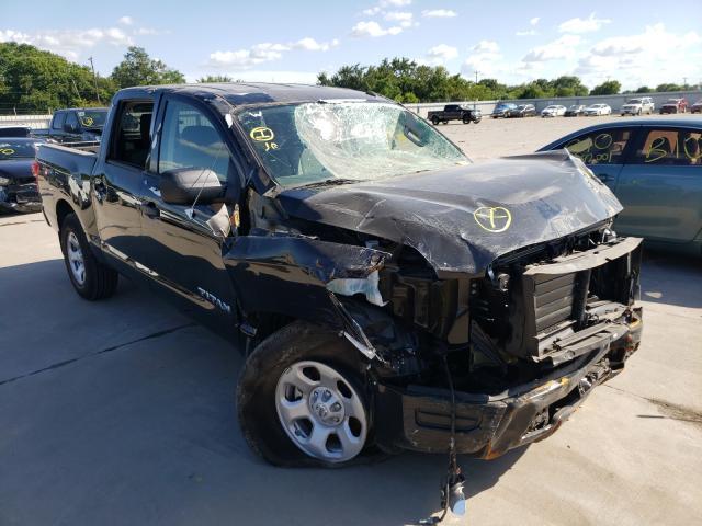 Vehiculos salvage en venta de Copart Wilmer, TX: 2021 Nissan Titan S
