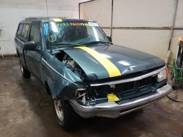 Ford Ranger salvage cars for sale: 1996 Ford Ranger