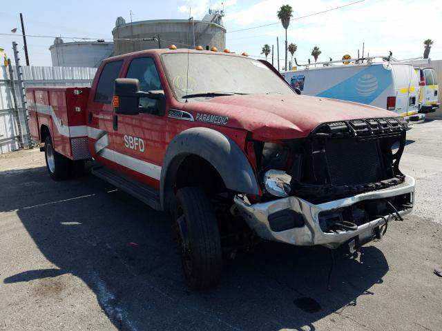 Salvage cars for sale from Copart Wilmington, CA: 2011 Ford F450 Super