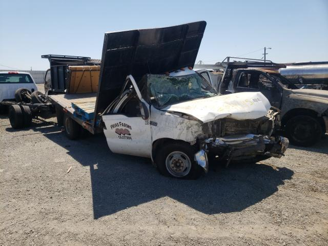 Salvage cars for sale from Copart Vallejo, CA: 2003 Ford F350 Super