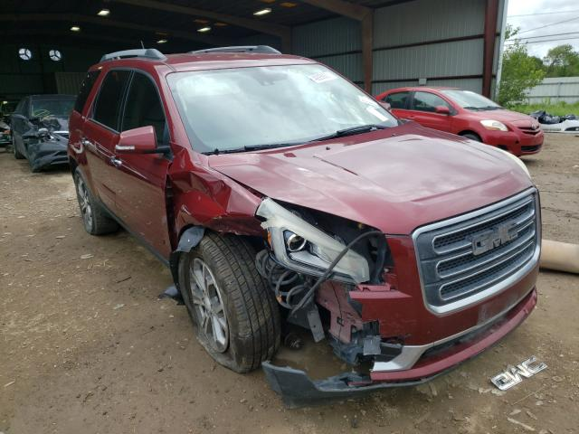 Salvage cars for sale from Copart Houston, TX: 2016 GMC Acadia SLT