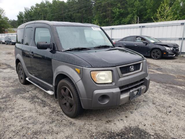 Salvage cars for sale from Copart Fredericksburg, VA: 2003 Honda Element EX