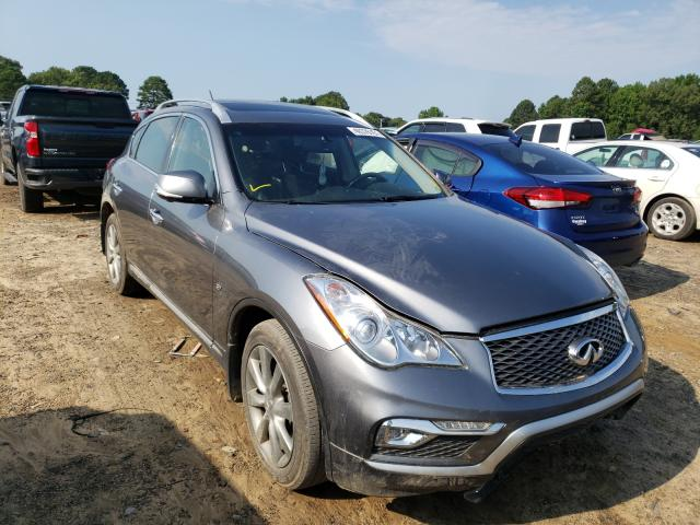 Salvage cars for sale at Conway, AR auction: 2017 Infiniti QX50
