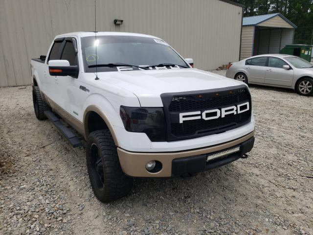 Salvage cars for sale from Copart Seaford, DE: 2012 Ford F150 Super