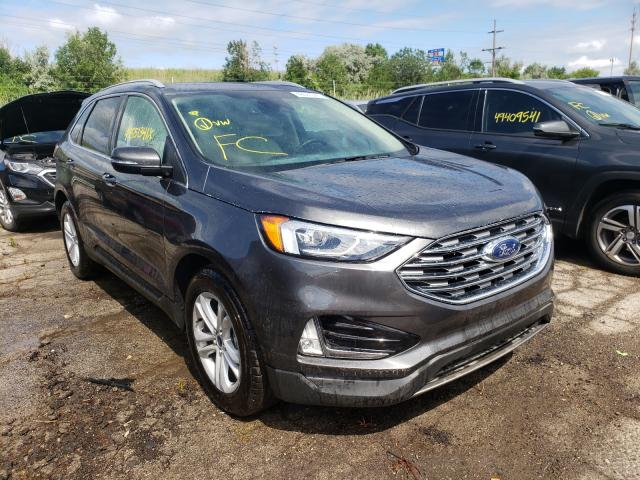 Salvage cars for sale from Copart Woodhaven, MI: 2020 Ford Edge SEL